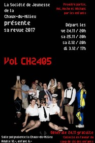 "Spectacle ""Vol CH2405"""